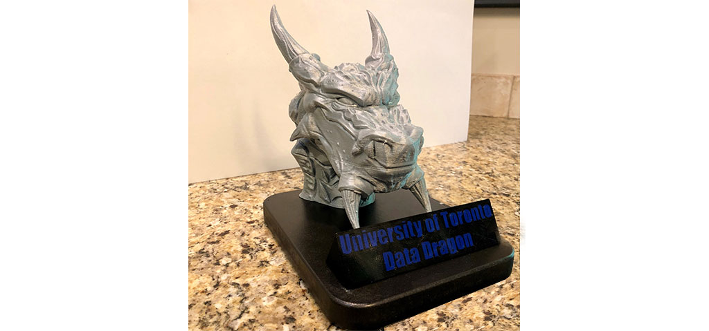 Data Dragon trophy
