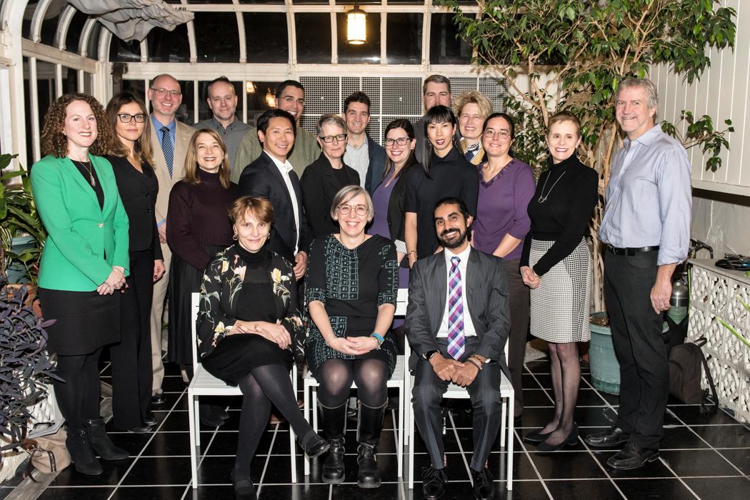 recipients of the Alumni Impact Survey award