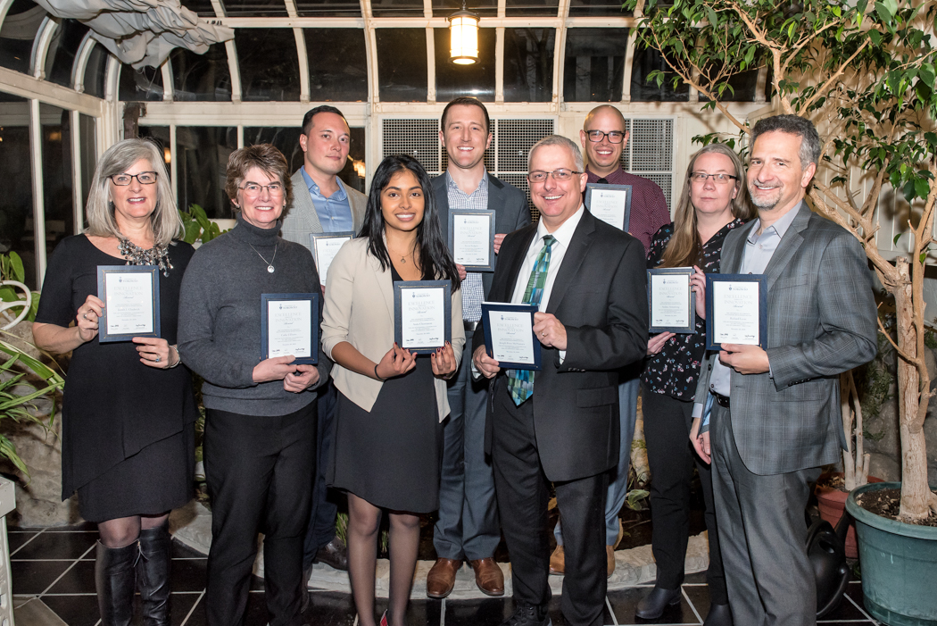 Staff from EASI and Planning and Budget win awards Data Dragons Competition