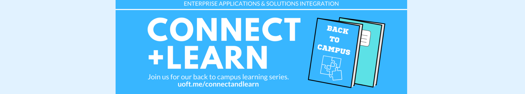 Connect and Learn banner